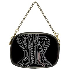 Decorative guitar Chain Purses (Two Sides)