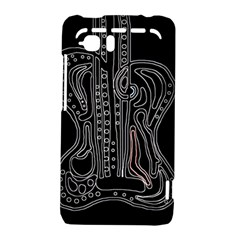 Decorative guitar HTC Vivid / Raider 4G Hardshell Case