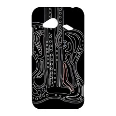 Decorative guitar HTC Droid Incredible 4G LTE Hardshell Case