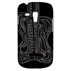 Decorative guitar Samsung Galaxy S3 MINI I8190 Hardshell Case