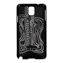 Decorative guitar Samsung Galaxy Note 3 Neo Hardshell Case (Black)