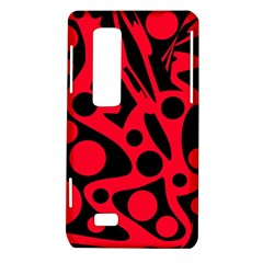 Red and black abstract decor LG Optimus Thrill 4G P925
