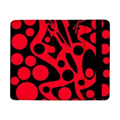 Red and black abstract decor Samsung Galaxy Tab Pro 8.4  Flip Case
