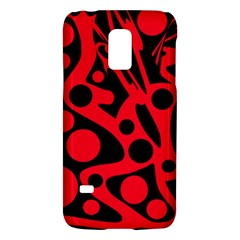 Red and black abstract decor Galaxy S5 Mini