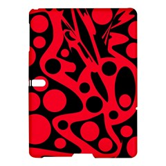 Red and black abstract decor Samsung Galaxy Tab S (10.5 ) Hardshell Case