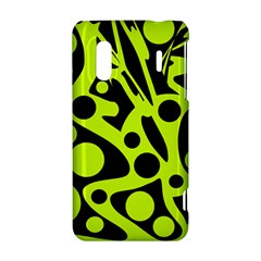 Green and black abstract art HTC Evo Design 4G/ Hero S Hardshell Case
