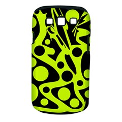 Green and black abstract art Samsung Galaxy S III Classic Hardshell Case (PC+Silicone)