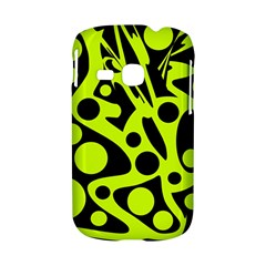 Green and black abstract art Samsung Galaxy S6310 Hardshell Case