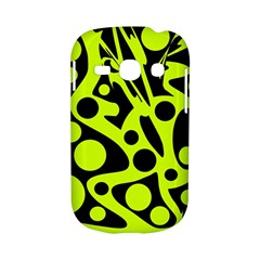 Green and black abstract art Samsung Galaxy S6810 Hardshell Case