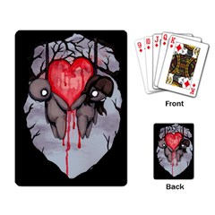 Til Death Playing Card