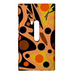 Orange abstract decor Nokia Lumia 920