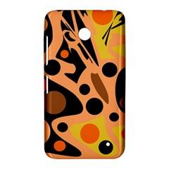 Orange abstract decor Nokia Lumia 630