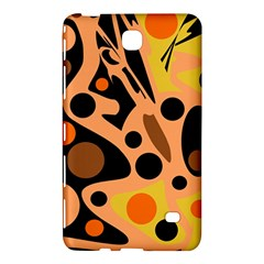 Orange abstract decor Samsung Galaxy Tab 4 (7 ) Hardshell Case