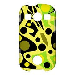 Green abstract art Samsung Galaxy S7710 Xcover 2 Hardshell Case