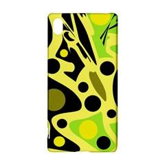 Green abstract art Sony Xperia Z3+