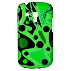 Green abstract decor Samsung Galaxy S3 MINI I8190 Hardshell Case