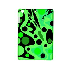 Green abstract decor iPad Mini 2 Hardshell Cases