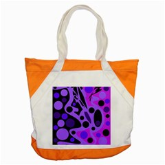 Purple abstract decor Accent Tote Bag