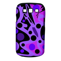 Purple abstract decor Samsung Galaxy S III Classic Hardshell Case (PC+Silicone)