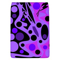 Purple abstract decor Flap Covers (L)