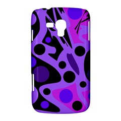 Purple abstract decor Samsung Galaxy Duos I8262 Hardshell Case