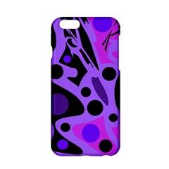 Purple abstract decor Apple iPhone 6/6S Hardshell Case