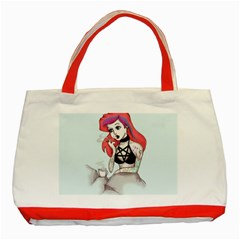 Humans Suck Classic Tote Bag (Red)
