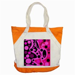 Pink abstract decor Accent Tote Bag