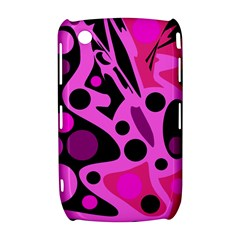 Pink abstract decor Curve 8520 9300