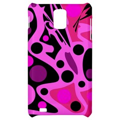 Pink abstract decor Samsung Infuse 4G Hardshell Case