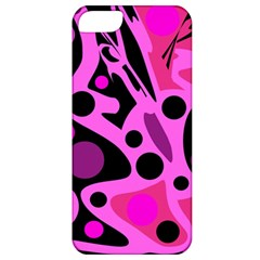 Pink abstract decor Apple iPhone 5 Classic Hardshell Case