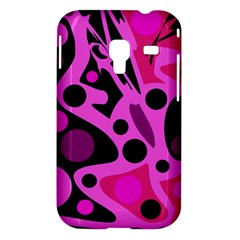 Pink abstract decor Samsung Galaxy Ace Plus S7500 Hardshell Case