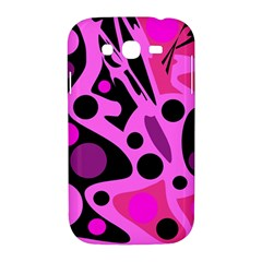 Pink abstract decor Samsung Galaxy Grand DUOS I9082 Hardshell Case