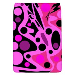 Pink abstract decor Flap Covers (L)