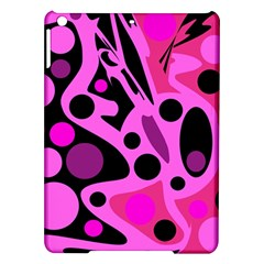 Pink Abstract Decor Ipad Air Hardshell Cases