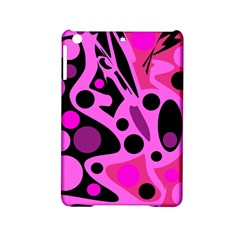 Pink abstract decor iPad Mini 2 Hardshell Cases