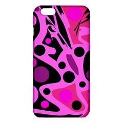Pink abstract decor iPhone 6 Plus/6S Plus TPU Case