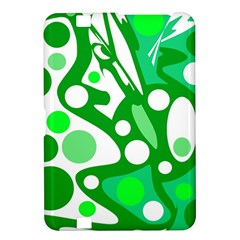 White and green decor Kindle Fire HD 8.9