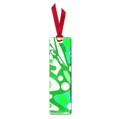 White and green decor Small Book Marks
