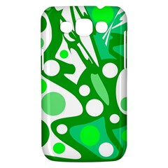 White and green decor Samsung Galaxy Win I8550 Hardshell Case