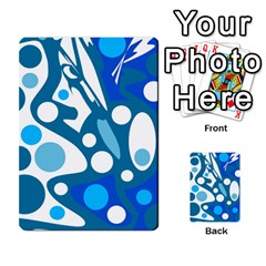Blue and white decor Multi-purpose Cards (Rectangle)