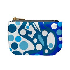 Blue and white decor Mini Coin Purses