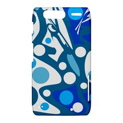 Blue and white decor Motorola Droid Razr XT912