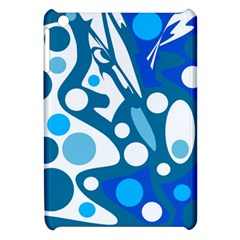 Blue and white decor Apple iPad Mini Hardshell Case