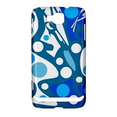 Blue and white decor Samsung Ativ S i8750 Hardshell Case