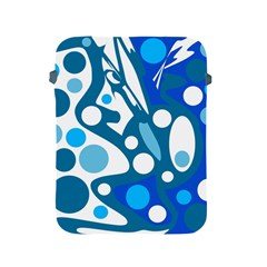 Blue and white decor Apple iPad 2/3/4 Protective Soft Cases