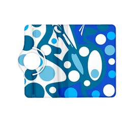 Blue and white decor Kindle Fire HD (2013) Flip 360 Case