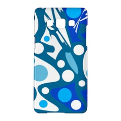 Blue and white decor Samsung Galaxy A5 Hardshell Case