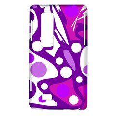 Purple and white decor LG Optimus Thrill 4G P925