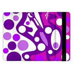 Purple and white decor Samsung Galaxy Tab Pro 12.2  Flip Case
